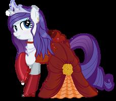 Rarity's Dress by Blueaugen