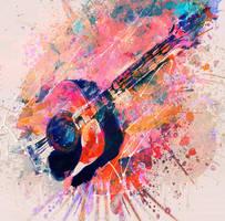 Dynamic guitar by DigitalHyperGFX