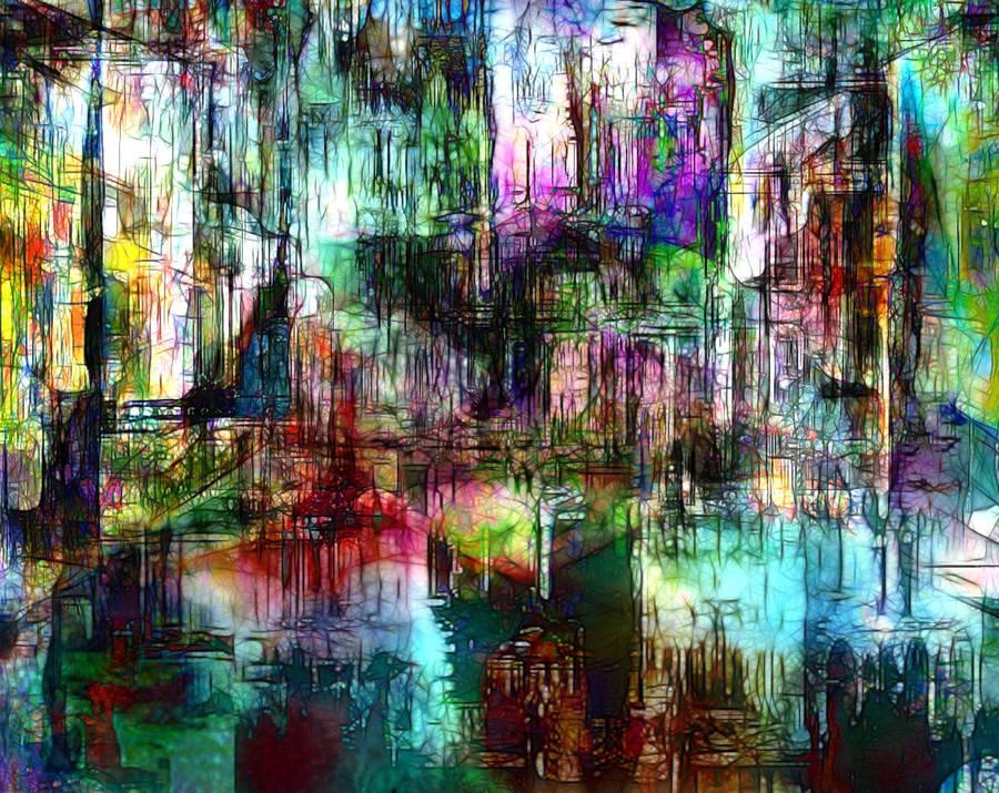 City Reflections by DigitalHyperGFX