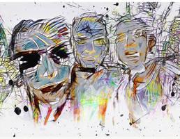 Three Fellas by DigitalHyperGFX