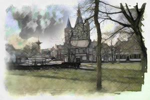 Van Nahuysplein by DigitalHyperGFX