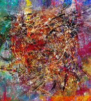Abstract Expressionisme III by DigitalHyperGFX