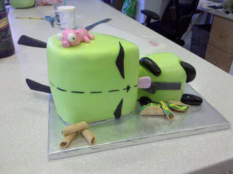 Sculpted GIR Cake by Celsia