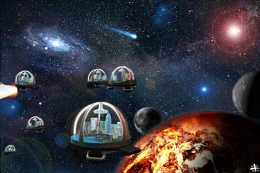 Space City by Positivist