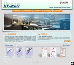 Ilksen Web Interface by Positivist