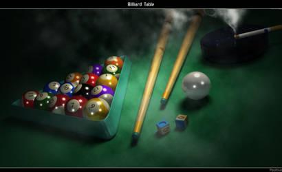 Billiard Table by Positivist