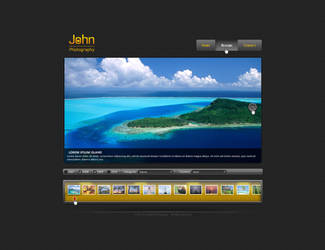 Photoghrapher Site by Positivist