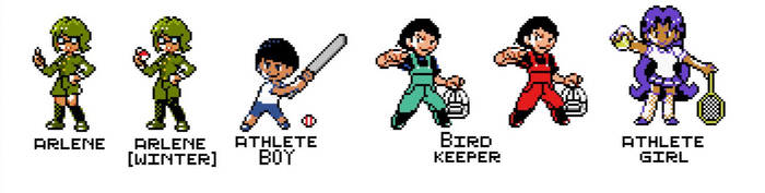 Trainer Pixel Art (HQ) by Dynogreen