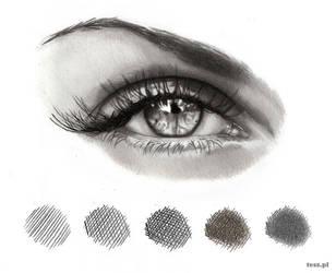 Eye Shadowing by TeSzu