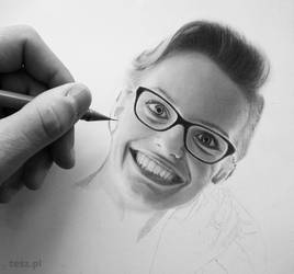 Portrait WIP by TeSzu