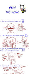 Nyu's Art Meme- CHANIFIED by Chancake