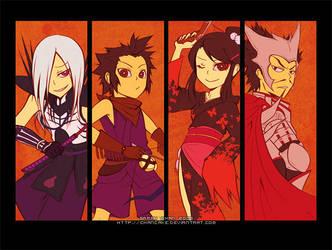 BASARA: Oda Clan by Chancake