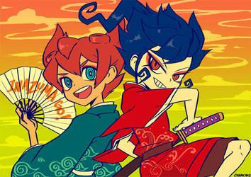 iGO: Wind and Sword by Chancake
