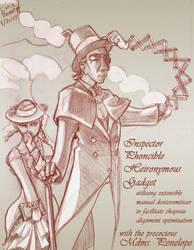 Victorian Inspector Gadget by chrisbeaver