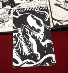 Sin City'esque Venom by chrisbeaver