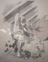 Batman by chrisbeaver