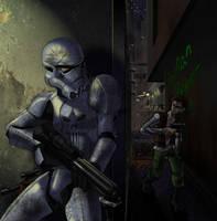 Star Wars Punisher by chrisbeaver