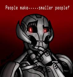 Ultron by BillSpooks