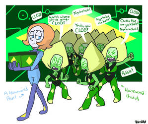 Meanwhile, on Homeworld by BillSpooks