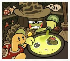 PKMN-L :: The Frog Witch by BillSpooks