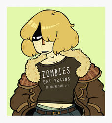 P-NO :: Jessie in a cool shirt by BillSpooks