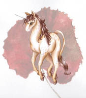 Pinto Unicorn by iloverodents100
