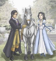 Marcus and Ellie (Regency Love) by dreamholde