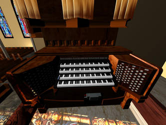 Cathedral Organ by IvelliosNaiilo