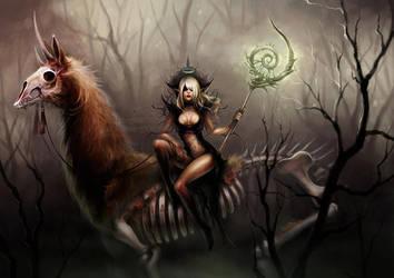 undead llama by len-yan
