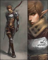 gryphon hunter by len-yan