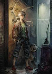 Awaken Destruction: Nathan Lewis by len-yan