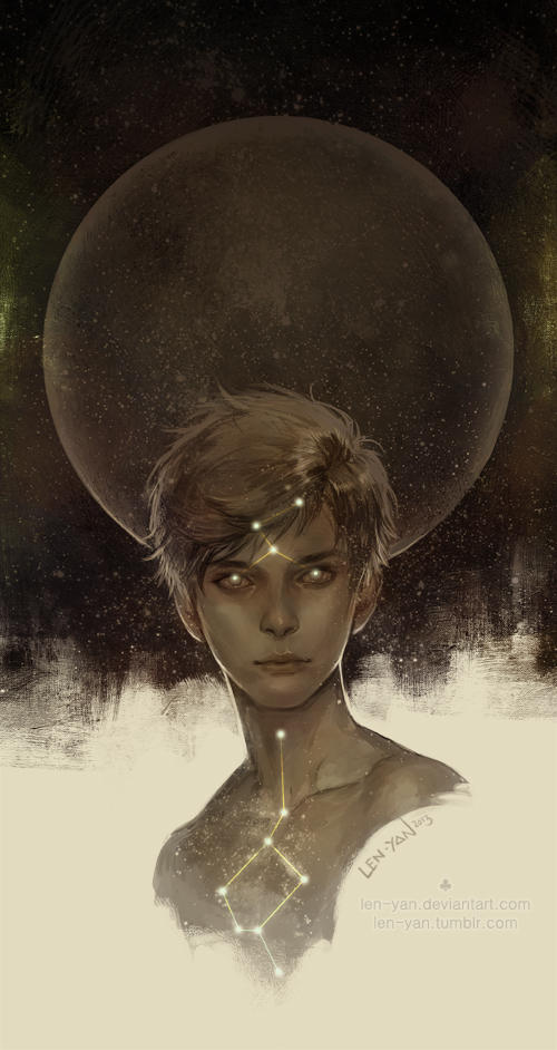 dark side of the moon by len-yan