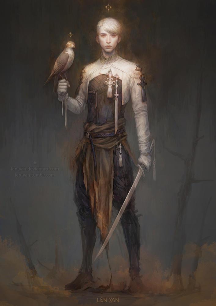 birds of prey by len-yan