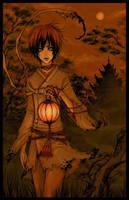 under the moonlight by len-yan