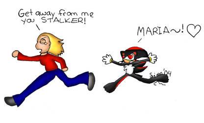 Shadow is a STALKER by shortcake
