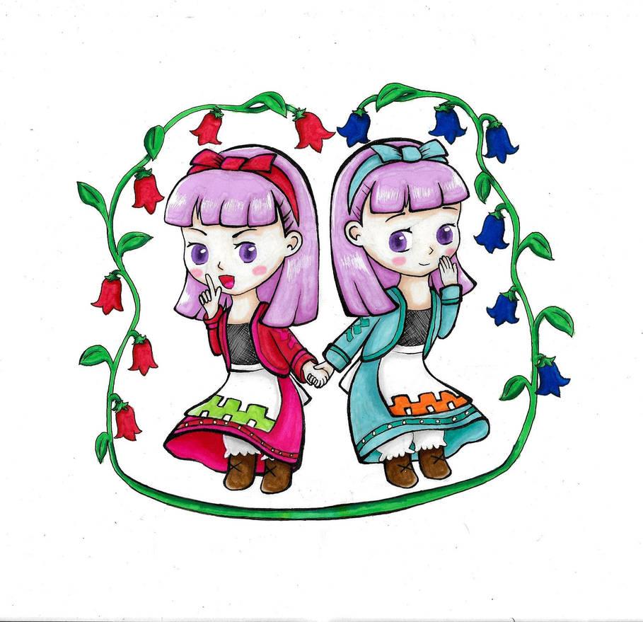 Lauren And Cindy Harvest Moon Grand Bazaar By Yuki Icecreamkitty