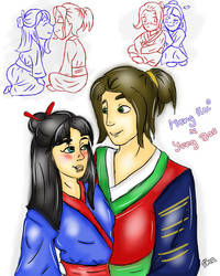 Chinese Love by CartoonLover20