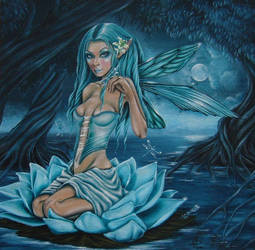 Water Fairy by AntonellaDAmato