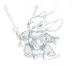 SITH Stitch by DarthZemog