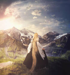 Across The Mountains by Adipose620