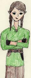 Drawing for ElvishPirateGypsy by Ryusora