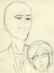 Ikkaku and Kimi by Ryusora