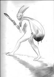 The Bunny Man by NIGHTMAREFEAST