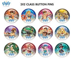 FLYFF Class Button Pins by Ardnaz