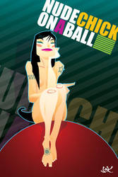 nudechickonaball by dokrobei