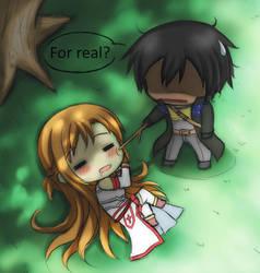 SAO FA - for real? by GreenTeaNeko