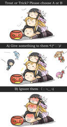 Happy SAO Halloween by GreenTeaNeko