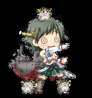 Hiei Chibi Damage Version by GreenTeaNeko