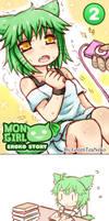 DA MonGirl Eroko Story 2 by GreenTeaNeko