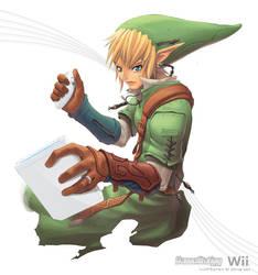 Zelda on Wii by kuebulan